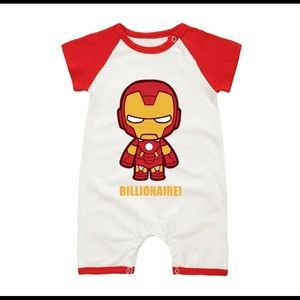 Other - Baby rompers Iron man baby clothes